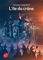 Couverture du livre « David Eliot t.1 ; l'île du crâne » de Anthony Horowitz aux éditions Hachette Jeunesse