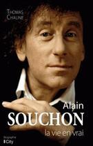 Couverture du livre « Alain Souchon » de Thomas Chaline aux éditions City