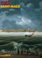 Couverture du livre « Peintres des côtes de bretagne ; saint-malo » de Leo Kerlo et Rene Le Bihan aux éditions Chasse-maree