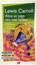 Couverture du livre « Alice au pays des merveilles » de Lewis Carroll aux éditions Flammarion