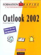 Couverture du livre « Outlook 2002 » de Renaud Alaguillaume aux éditions Dunod