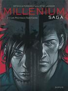 Couverture du livre « Millénium saga T.2 ; les nouveaux spartiates » de Sylvain Runberg et Belen Ortega aux éditions Dupuis