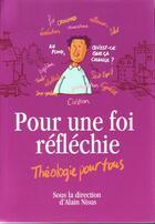 Couverture du livre « Manuel de théologie chrétienne » de Alain Nisus aux éditions La Maison De La Bible
