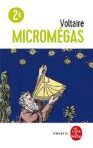 Couverture du livre « Micromégas » de Voltaire aux éditions Lgf