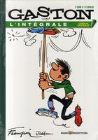 Couverture du livre « Gaston, 1961-1962 ; l'intégrale » de Franquin aux éditions Marsu Productions