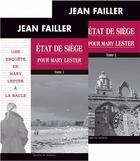 Couverture du livre « MARY LESTER T.42/43 ; état de siège pour Mary Lester » de Jean Failler aux éditions Palemon