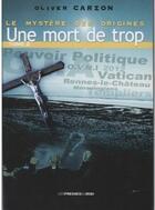 Couverture du livre « Le mystère des origines t.2 » de Oliver Carzon aux éditions Presses Du Midi