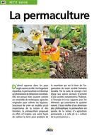 Couverture du livre « La permaculture » de Collectif aux éditions Aedis