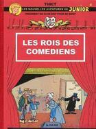 Couverture du livre « Les peur de rien t.4 ; les rois des comédiens » de Tibet aux éditions Pan Pan