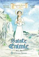 Couverture du livre « Sainte Enimie » de Mauricette Vial-Andru et Roselyne Lesueur aux éditions Saint Jude