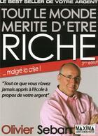 Couverture du livre « Tout le monde mérite d'être riche (3e édition) » de Olivier Seban aux éditions Maxima Laurent Du Mesnil