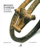 Couverture du livre « Bronzes d'Afrique » de Max Itzikovitz et Bertrand Goy aux éditions Sepia