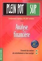 Couverture du livre « Analyse Financiere Bts T.30 » de Buissart aux éditions Foucher