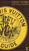 Couverture du livre « City guides ; New York (édition 2009) » de Ruben Toledo aux éditions Louis Vuitton