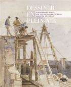 Couverture du livre « Dessiner en plein air » de Marie-Pierre Sale aux éditions Lienart