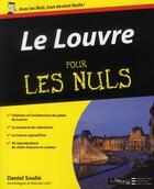Couverture du livre « Le Louvre » de Daniel Soulie aux éditions First