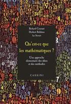 Couverture du livre « Qu'est ce que les mathématiques ? » de Richard Courant et Herbert Robbins aux éditions Cassini