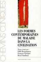 Couverture du livre « Les formes contemporaines du malaise dans la civilisation » de Bourguignon O aux éditions Pu Du Mirail