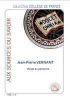 Couverture du livre « Ulysse en personne » de Jean-Pierre Vernant aux éditions Le Livre Qui Parle