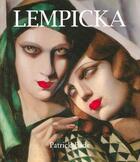 Couverture du livre « Lempicka » de Patrick Bade aux éditions Parkstone International
