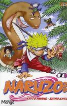 Couverture du livre « Naruzozo t.3 ; jungle fever » de Shiro Kato et Kaito Amano aux éditions Gakko