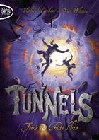 Couverture du livre « Tunnels t.3 ; chute libre » de Roderick Gordon et Brian Williams aux éditions Michel Lafon Poche