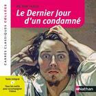 Couverture du livre « Le dernier jour d'un condamné » de Victor Hugo et Cecile De Cazanove aux éditions Nathan