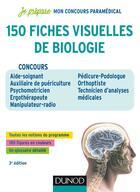 Couverture du livre « Je prépare ; 150 fiches visuelles de biologie » de Patrick Troglia aux éditions Dunod