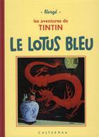 Couverture du livre « Les aventures de Tintin T.5 ; le lotus bleu » de Herge aux éditions Casterman
