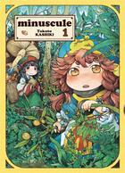 Couverture du livre « Minuscule T.1 » de Takuto Kashiki aux éditions Komikku