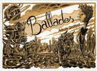 Couverture du livre « Ballades » de Adrien Demont aux éditions Scutella