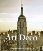 Couverture du livre « Art Deco » de Victoria Charles aux éditions Parkstone International