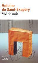 Couverture du livre « Vol de nuit » de Antoine De Saint-Exupery aux éditions Gallimard