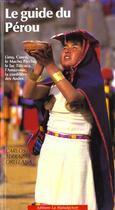 Couverture du livre « Guide du perou » de Orellana aux éditions La Manufacture
