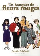 Couverture du livre « Un bouquet de fleurs rouges » de Rumiko Takahashi aux éditions Tonkam