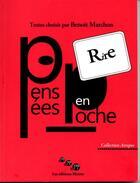 Couverture du livre « Rire ; pensées en poche » de Benoit Marchon aux éditions Editions Moires