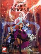 Couverture du livre « La reine des neiges ii - la bd du film » de Walt Disney Company aux éditions Hachette Comics