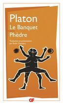 Couverture du livre « Le banquet ; Phèdre » de Platon aux éditions Flammarion