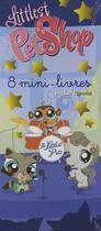 Couverture du livre « Littlest PetShop ; 8 mini-livres » de Collectif aux éditions Mfg Education