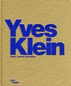 Couverture du livre « Yves Klein » de Camille Morineau aux éditions Centre Pompidou