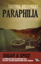 Couverture du livre « Paraphilia » de Saffina Desforges aux éditions Ma