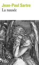 Couverture du livre « La nausée » de Jean-Paul Sartre aux éditions Gallimard