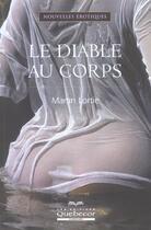 Couverture du livre « Le Diable Au Corps » de Martin Lortie aux éditions Quebecor