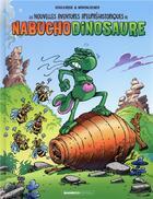 Couverture du livre « Les nouvelles aventures apeupréhistoriques de Nabuchodinosaure T.2 » de Roger Widenlocher et Patrick Goulesque aux éditions Bamboo