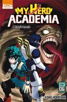 Couverture du livre « My hero academia T.6 ; frémissements » de Kohei Horikoshi aux éditions Ki-oon