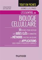 Couverture du livre « Biologie cellulaire - licence 1/2/CAPES ; l'essentiel » de Jean-Claude Callen et Guillaume Barthole aux éditions Dunod