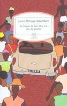 Couverture du livre « Le crayon du bon Dieu n'a pas de gomme » de Louis-Philippe Dalembert aux éditions Motifs