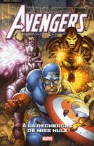 Couverture du livre « Avengers T.3 ; à la recherche de Miss Hulk » de John Sadowsky et Scott Kolins et Geoff Johns aux éditions Panini