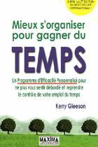 Couverture du livre « Mieux s'organiser pour gagner du temps (5e édition) » de Kerry Gleeson aux éditions Maxima Laurent Du Mesnil