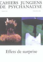 Couverture du livre « Cahiers jungiens tours et deto - cahj136 » de Collectif aux éditions Cahiers Jungiens De Psychanalyse